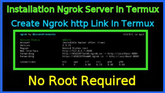 How To Create Ngrok Server In Termux | Installation Ngrok In Termux | Incredible Hacker
