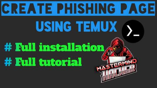 How to create phishing page esayly in termux | by MasterMind Hacker