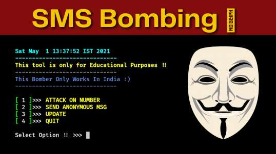SMS Bombing using Termux | How to Send Unlimited Anonymous Message to Anyone for Free