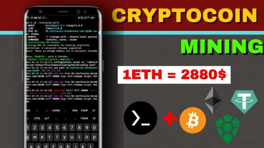 Mining Cryptocoin on any Android Using Termux 2021- Free Bitcoin Mining on Android 2021