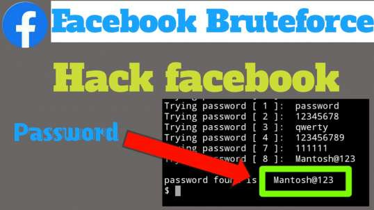 Facebook bruteforce tool for termux | by MasterMind Hacker