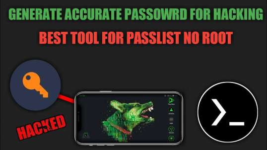 Passwordlist Tool For Termux No Root Explained | by Noob Hackers