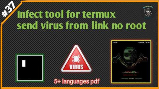 Infect Tool For Termux Virus Maker No Root | By Noob Hackers