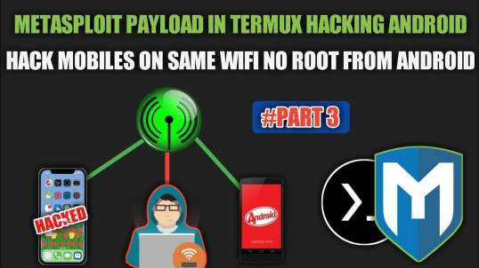 Metasploit Exploits And Payloads Over Lan Explained In Hindi No Root (part 3) | By Noob Hackers
