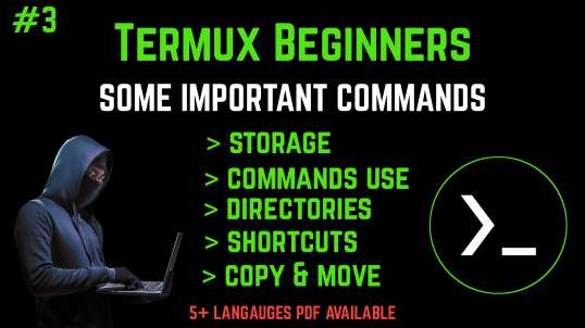 #3 Termux Beginners Tutorial Basics To Pro (No Root) | By Noob Hackers