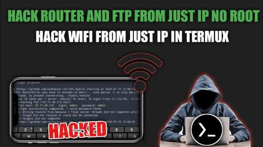 How To Get Router Password And user Name In Termux   By Noob Hackers