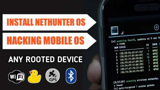 Install Hackers Os Nethunter In Rooted Mobile Full Tutorial | By Noob Hackers