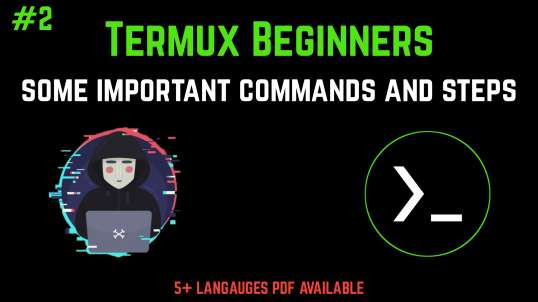 #2 Termux Beginners Tutorial Basics To Pro (No Root) | By Noob Hackers
